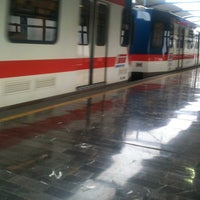 Photo taken at Metrorrey (Estación Hospital) by Blauered  on 6/12/2013