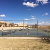 Photo taken at Desert Mountain High School by Kim M. on 2/28/2014