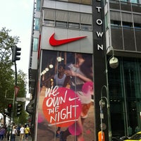 Photo taken at Niketown Berlin by Zegi S. on 5/17/2013