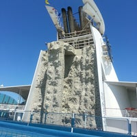Photo taken at Royal Caribbean - Freedom Of The Seas by Brian M. on 9/8/2013