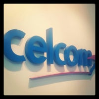 Photo taken at Celcom Branch by LeyLa D. on 5/3/2013