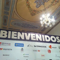 Photo taken at 10mo Festival Internacional de Cine de Morelia by Patrick S. on 11/1/2012