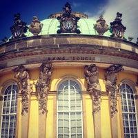 Photo taken at Schloss Sanssouci by Ilya K. on 7/28/2013