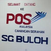 Photo taken at Pejabat Pos Cawangan Serahan Sungai Buloh by Rusaimi M. on 5/14/2014