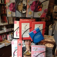 Photo taken at Librairie Gourmande by Elodie MiamMiam on 6/18/2013