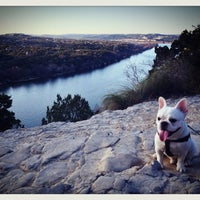 Photo taken at Covert Park at Mt. Bonnell by Jeni ☆. on 2/7/2013