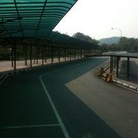 Photo taken at Sultan Abu Bakar CIQ Complex by Rachel F. on 5/13/2011