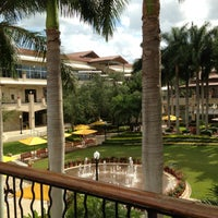 Photo taken at Shops at Merrick Park by Paola A. on 6/14/2013