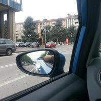Photo taken at Piazza Europa by Alessia Marachella C. on 5/7/2013