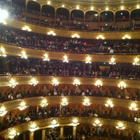 Photo taken at Teatro Colón by Dante B. on 6/17/2013