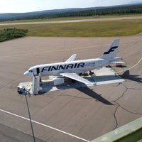 Photo taken at Kittilä Airport (KTT) by Hemm M. on 7/31/2013