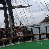 Photo taken at Pirates of Alanya by Tarık Anıl T. on 10/17/2013