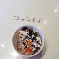 Photo taken at Orange Leaf by Christie C. on 5/12/2013