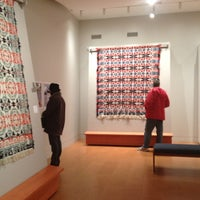 Photo taken at McCarl Coverlet Gallery at Saint Vincent College by WestmorelandHeritage on 5/3/2013