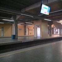 Photo taken at Estação Samambaia - METRÔ-DF by Fabiano M. on 9/12/2013