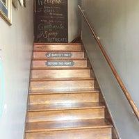 Photo taken at Barefoot Yoga Studio by Barefoot Yoga Studio on 4/24/2015