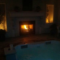 Photo taken at Oasis Hot Tub Garden by Bill on 11/3/2012