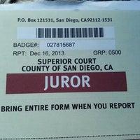 Photo taken at Superior Court of CA - El Cajon by Maureen O. on 12/16/2013