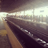 Photo taken at Yellow Line - Quezon Avenue Station by Micha F. on 6/23/2013