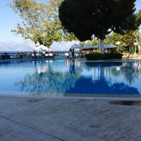 Photo taken at Antalya Hotel by Hülya Ç. on 6/24/2013