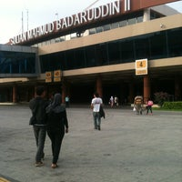 Photo taken at Sultan Mahmud Badaruddin II International Airport (PLM) by Ruh on 11/26/2012
