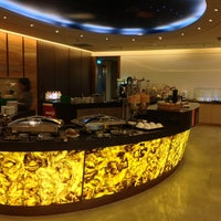 Photo taken at EVA Air Lounge by Jacky C. on 5/27/2013
