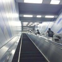 Photo taken at Oedo Line Higashi-nakano Station (E31) by cerezo2005 on 8/6/2015