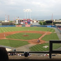 Photo taken at Harbor Park by Henry G. on 6/29/2013