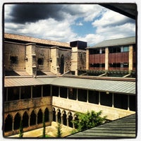 Photo taken at Facultat Lletres Universitat de Girona by Joan P. on 6/3/2013
