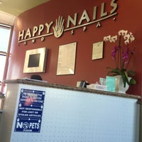Photo taken at Happy Nails & Spa by Sherra Victoria B. on 2/12/2013