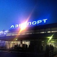 Photo taken at Bolshoye Savino International Airport (PEE) by Ivan E. on 5/22/2013