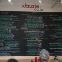 Photo taken at Tomate Cafe by Matt C. on 5/29/2016