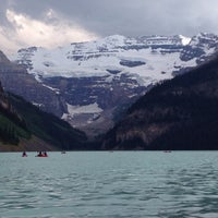 Photo taken at Lake Louise by Samir G. on 7/3/2013