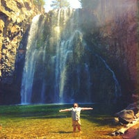Photo taken at Rainbow Falls by Caleb E. on 8/29/2015