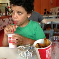Photo taken at MOOYAH Burgers, Fries & Shakes by LeRoy G. on 5/30/2013