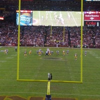 Photo taken at FedEx Field by Paul M. on 12/4/2012