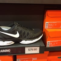 Photo taken at Nike Factory Store by Daryl C. on 1/14/2017