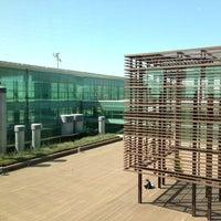 Photo taken at Gate E70 - Aeroport T1 by Andrzej K. on 8/4/2013