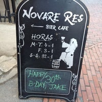 Photo taken at Novare Res Bier Cafe by Rori C. on 3/10/2013