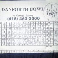 Photo taken at Danforth Bowl by Bosco T. on 2/11/2016