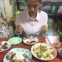 Photo taken at ร้านลูกหิน ส้มตำ อาหารอีสาน by mp. . on 8/25/2016