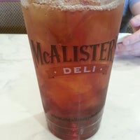Photo taken at McAlister's Deli by Buffy H. on 5/25/2013