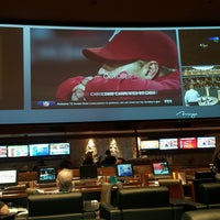 Photo taken at The Mirage Race & Sports Book by Mark K. on 10/13/2016