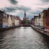 Photo taken at Jan Van Eyck Plein by Aleksandr S. on 5/4/2013