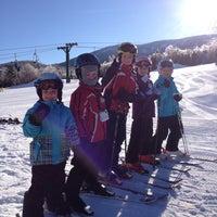 Photo taken at Saddleback Mountain by Eric O. on 2/22/2014