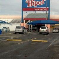 Photo taken at Hiper Bompreço by Juno S. on 5/16/2013