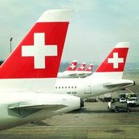 Photo taken at Zurich Airport (ZRH) by Sean D. on 3/5/2013