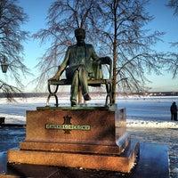 Photo taken at Набережная Воткинского пруда by Андрей В. on 12/14/2012