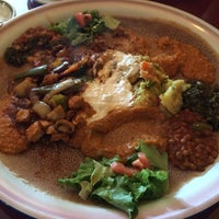 Photo taken at Assab Eritrean Restaurant by Amy W. on 5/20/2014