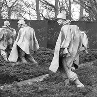 Photo taken at Korean War Veterans Memorial by Tracie on 12/11/2012